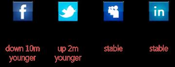 3Q 2010 social media users