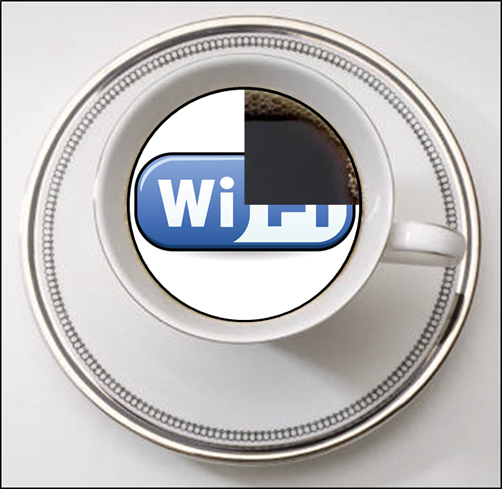 75 percent prefer wi-fi to tea or coffee
