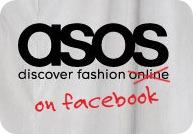 ASOS on facebook image