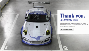 Porsche Thank You image