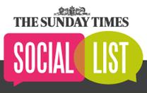 The Sunday Times Social List logo
