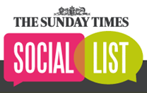 The Sunday Times Social List logo
