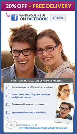 Glasses Direct email offer