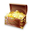 treasure chest gold rich money