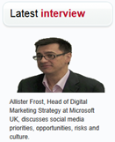 Latest Interview image - Allister Frost
