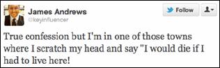 James Andrews' infamous tweet
