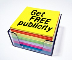 Get-free-publicity-note