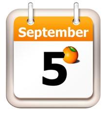 5 Sept calendar