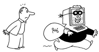 Get Safe Online cartoon