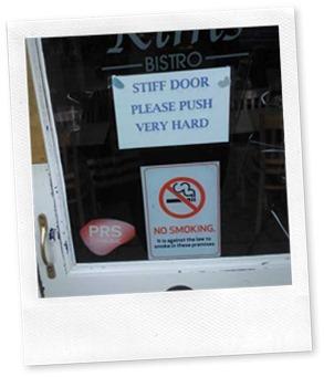 Bistro-Door
