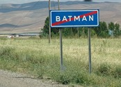 Batman Road sign