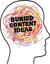 Buried-Content-Ideas