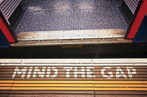 Mind The Gap London Tube
